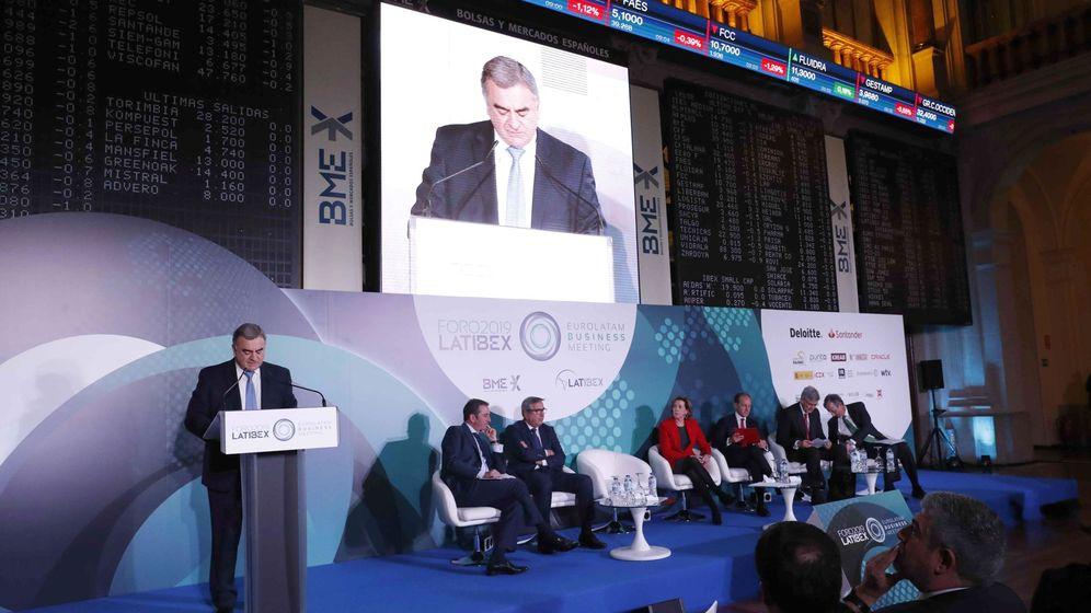 Foto: Javier Hernani, consejero delegado de BME. (EFE)