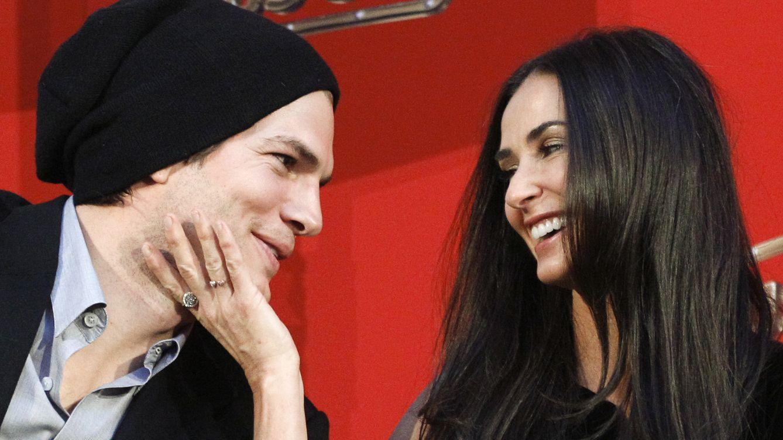 Foto: Parecían la pareja ideal, pero los 15 años de diferencia entre Ashton Kutcher y Demi Moore terminaron por pesar. (Reuters)