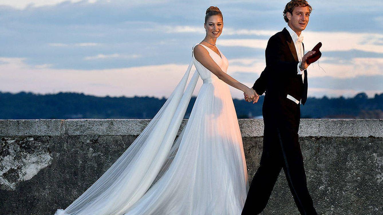 Foto: Pierre Casiraghi y Beatrice Borromeo el día de su boda