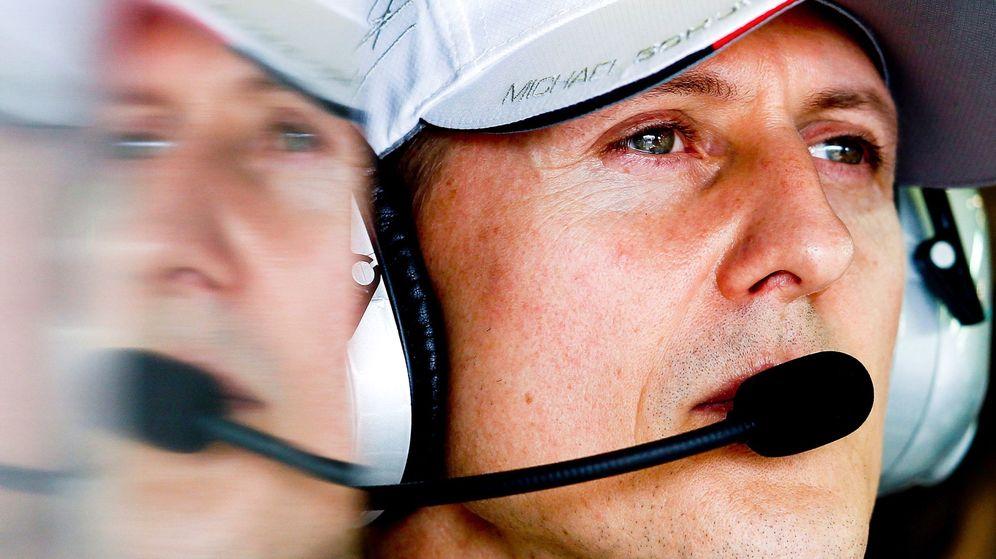 Foto: Michael Schumacher es trasladado a París. (Efe)