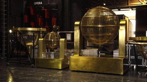 Los bombos ya está en el Teatro Real, listos para la Lotería de Navidad