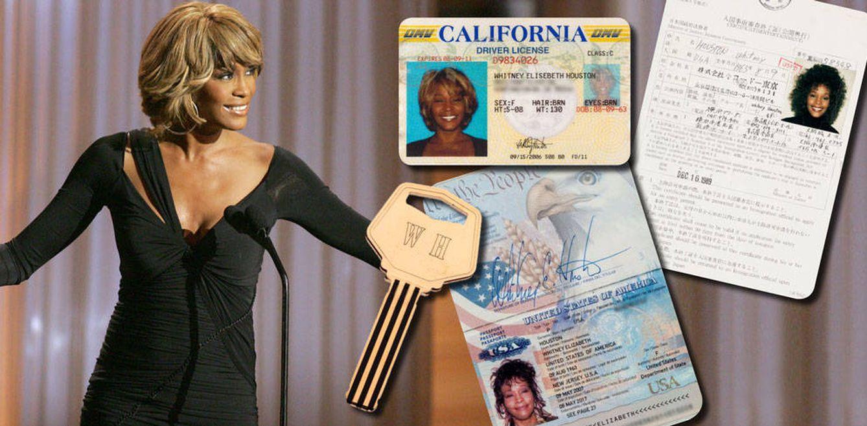 Foto: Whitney Houston en un fotomontaje realizado en Vanitatis