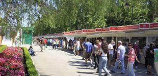 Post de La Feria del Libro de Madrid peligra tras el cierre del Retiro por el temporal