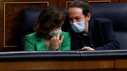 Los ministros del PSOE marcan territorio a los de Unidas Podemos