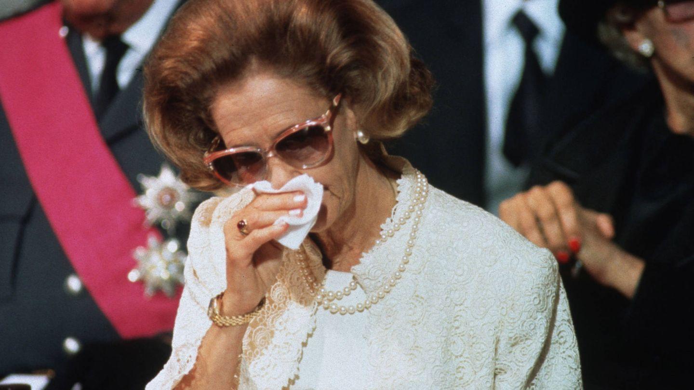 Fabiola en el funeral de Balduino. (Getty)