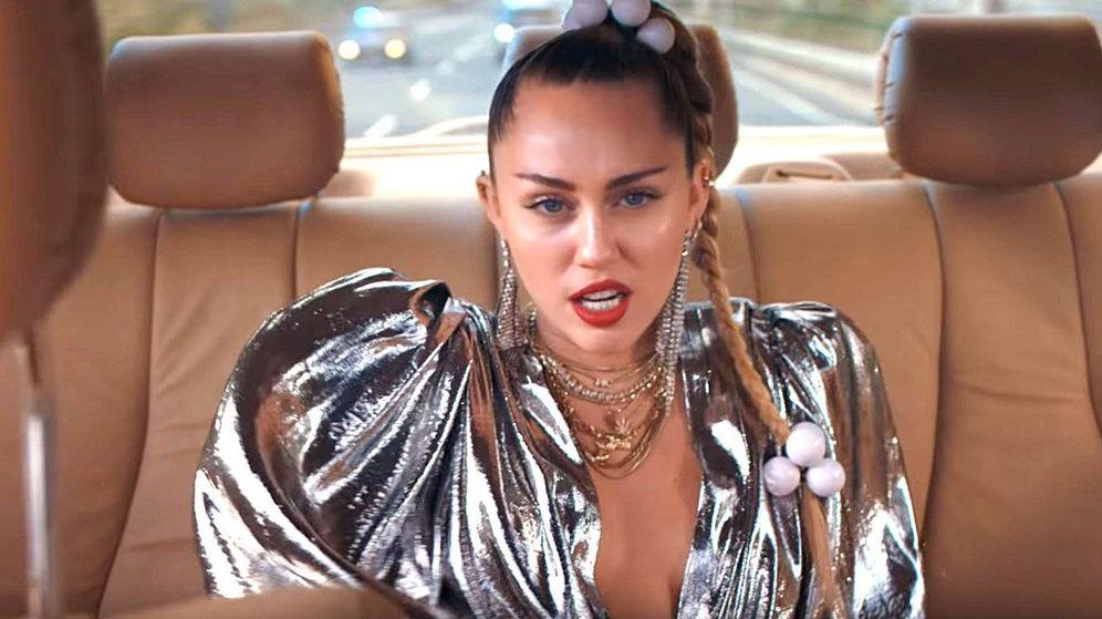 Foto: Miley Cyrus en 'Nothing breaks like a heart'.