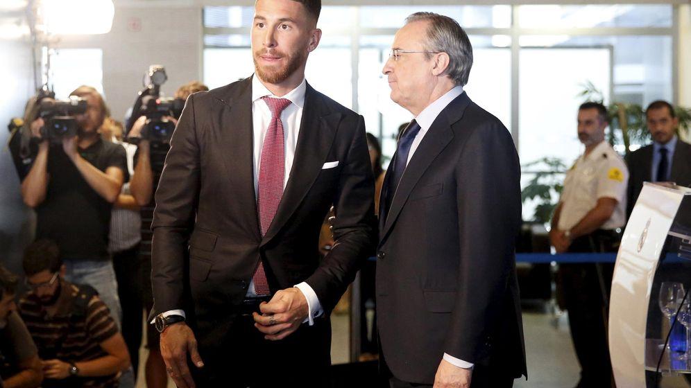 Foto: En agosto de 2015, tras varias semanas tira y afloja, el Real Madrid y Sergio Ramos anunciaron la renovación del contrato hasta 2020. (Reuters)