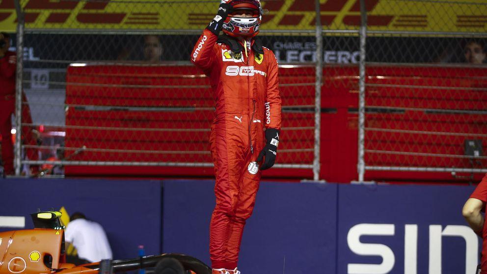 La vuelta salvaje de Leclerc y la cornada de Ferrari que Mercedes no vio venir