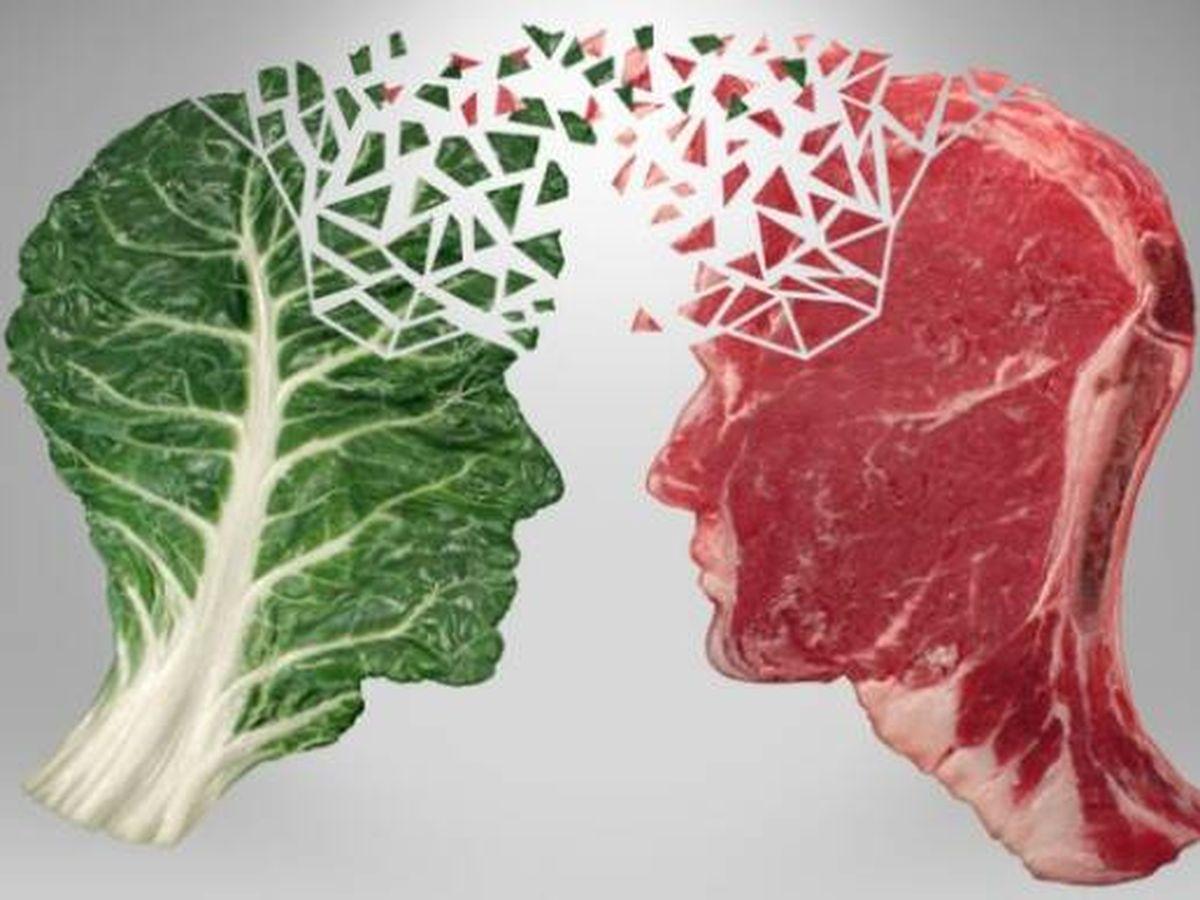 Foto: Verduras o carne