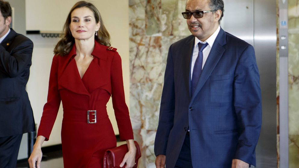 Doña Letizia acude a una reunión de trabajo de la OMS en Ginebra