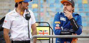 Post de Zak Brown habla sobre Fernando Alonso y Carlos Sainz: