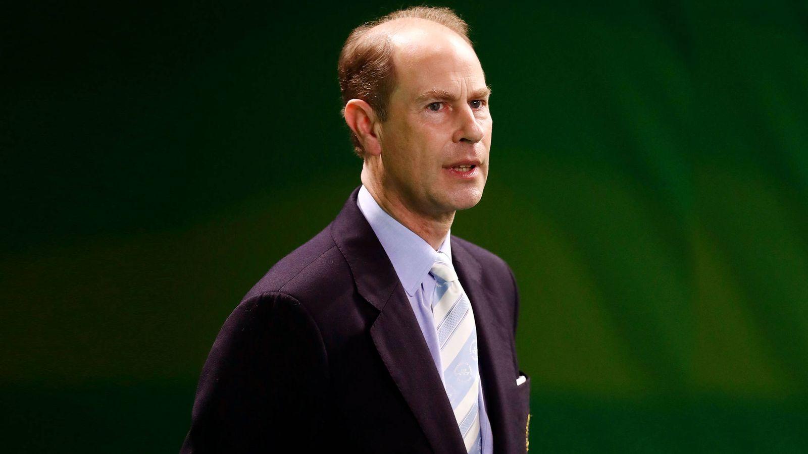 Foto:  El príncipe Eduardo, en una imagen de archivo. (Gtres)