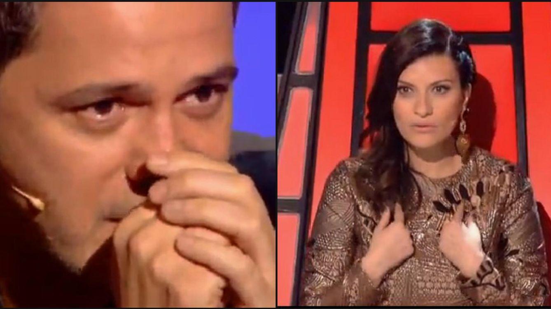 'La Voz' cierra equipos con el culo sexy de Pausini y un emocionado Alejandro Sanz
