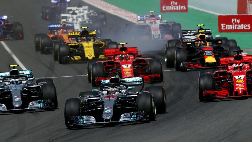 Foto: Salida del último GP de España. (EFE)