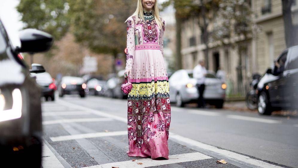 Foto: Vestidos, pantalones o chaquetas. Así se lleva la tendencia con parches. (Imagen: Imaxtree)