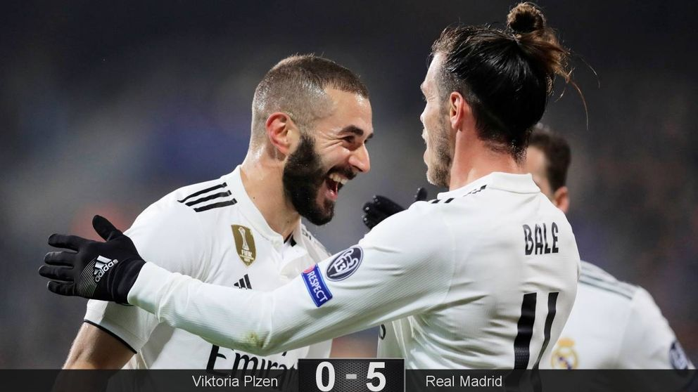 La alfombra roja a Benzema y Bale: por algo empieza el Real Madrid a salir de la crisis