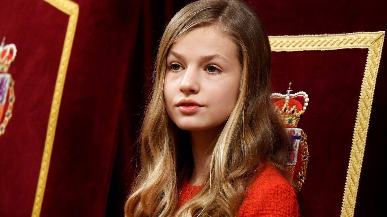 La princesa Leonor, en una imagen de archivo. (Getty Images)