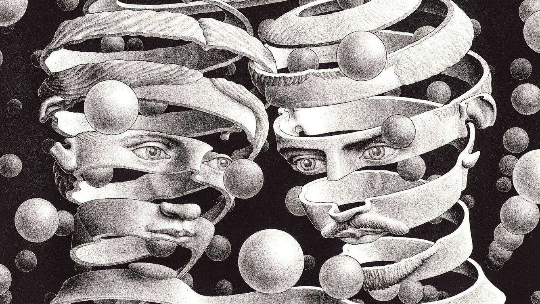 Foto: 'Lazo y unión', litografía de 1956.