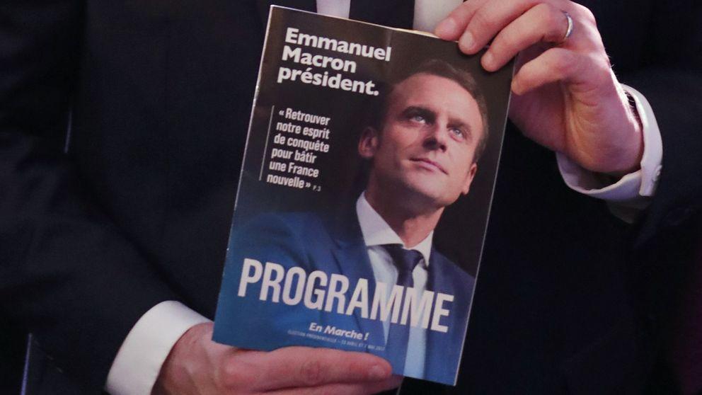 Modernización económica y religión en la escuela: Macron presenta su programa