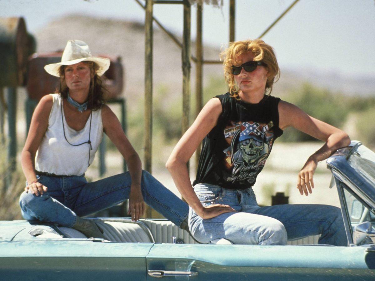 Foto: 'Thelma y Louise', en una imagen de la película. (CP)