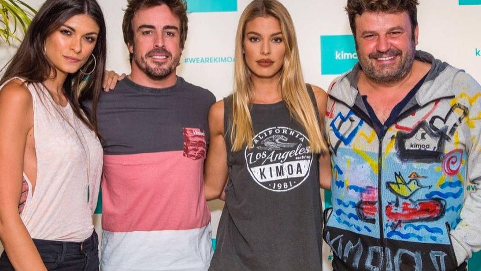 Foto: A finales de mayo, Fernando Alonso presentó su marca Kimoa en Nueva York. (Instagram/fernandoalo_oficial)
