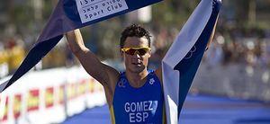 Gómez Noya se cuelga su tercer oro europeo en su camino hacia los JJOO de Londres