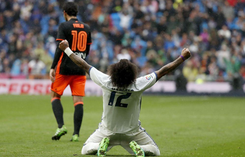 Foto: Imagen del Real Madrid-Valencia de la pasada temporada. (EFE)