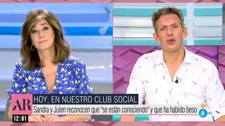 Ana Rosa y Joquin Prat desvelan los contenidos que tratrán en el 'club social'. (Mediaset España)