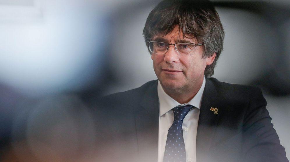 Foto: Imagen de archivo del expresidente catalán Carles Puigdemont. (EFE)