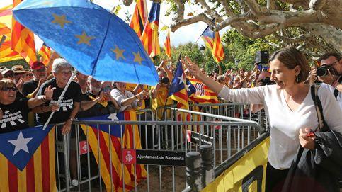 Carme Forcadell, la lideresa de la independencia de Cataluña lo deja