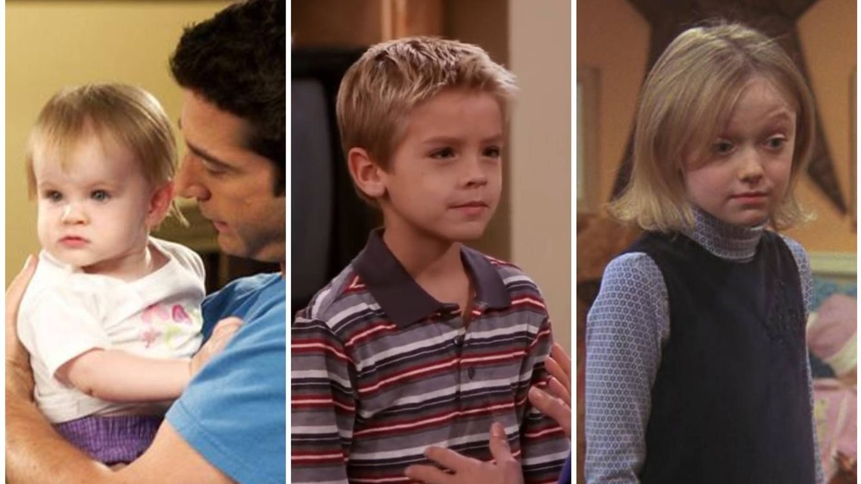 ¿Qué fue de los niños de 'Friends'? Así han crecido después de su paso por la serie