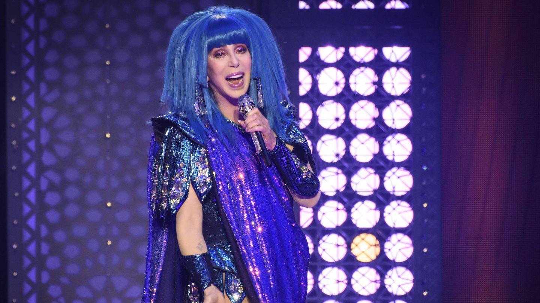 Cher, durante una actuación en Toronto. (CP)