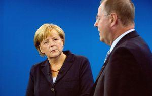 Merkel seguirá reclamando reformas a los países en apuros