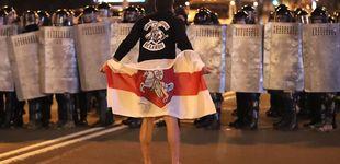 Post de Protestas contra el abultado triunfo electoral de Lukashenko en Bielorrusia