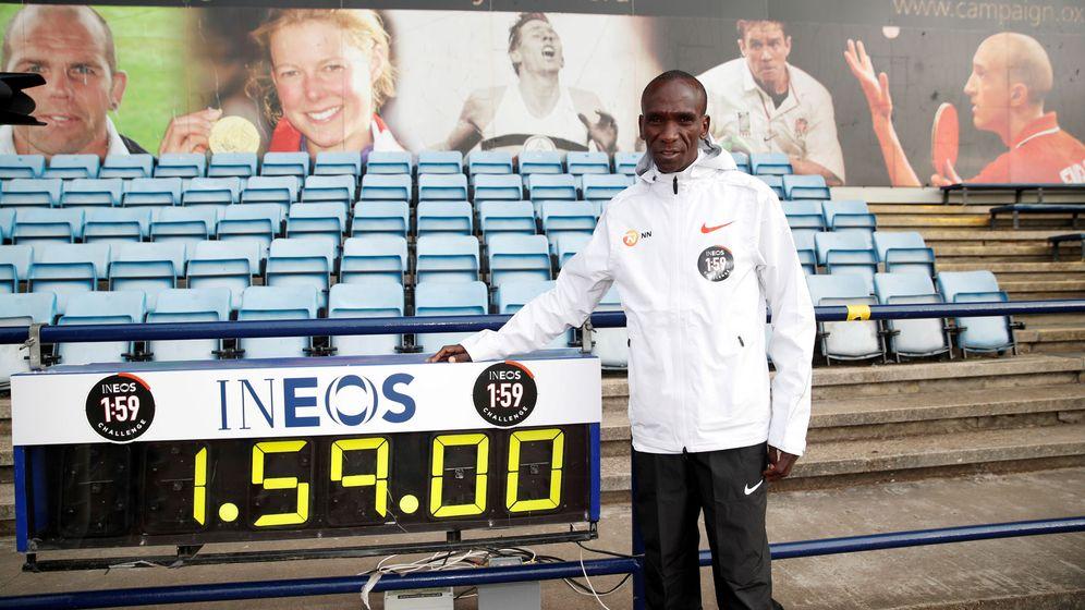 Foto: Eliud Kipchoge está convencido de que va a bajar de las dos horas en maratón. (Reuters)