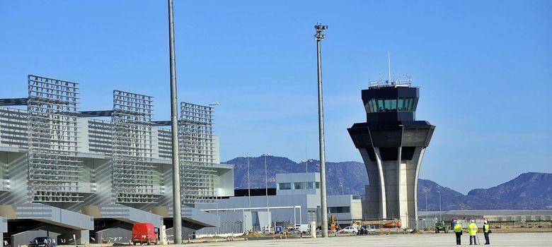 Foto: El aeropuerto privado de Corvera. (Archivo)