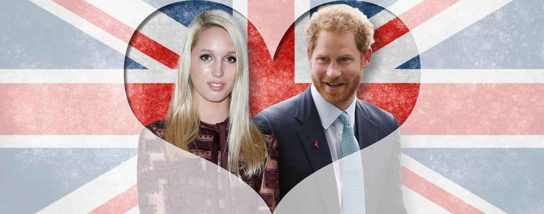 Foto: María Olimpia y el príncipe Harry en un fotomontaje realizado por Vanitatis