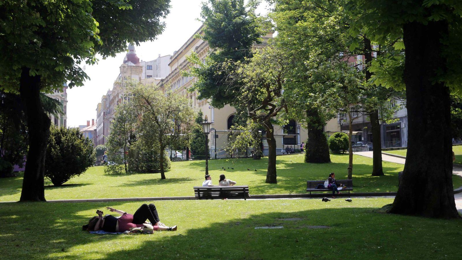 Foto: El Parque de San Francisco (Imagen: EFE)