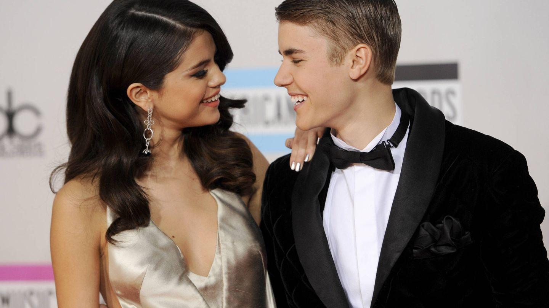 Justin Bieber y Selena Gomez en una imagen de archivo. (Gtres)