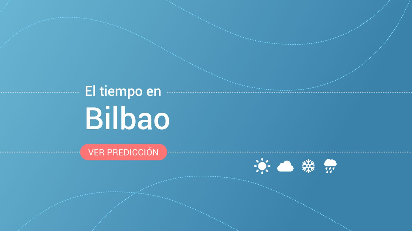 Foto: El tiempo en Bilbao. (EC)