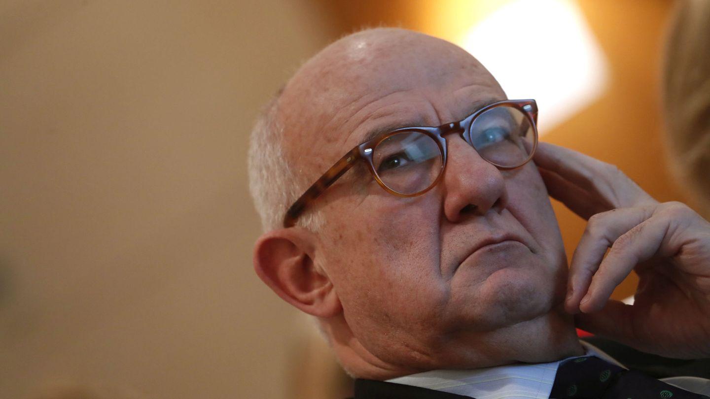 El presidente del Consejo de Seguridad Nuclear (CSN), Fernando Marti Scharfhausen. (EFE)