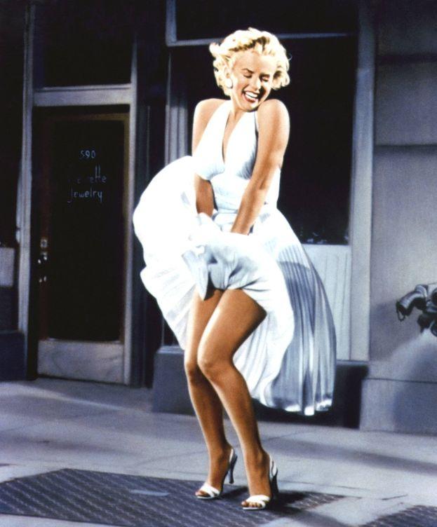 Foto: Marilyn en 'La tentación vive arriba'. (Cordon)