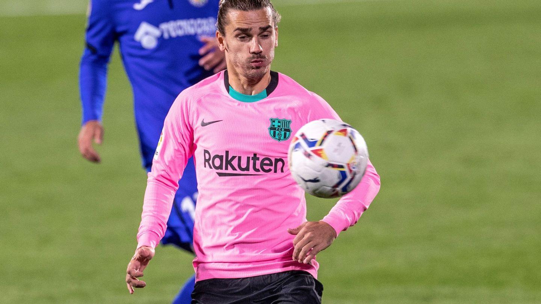 El delantero del FC Barcelona Antoine Griezmann. (EFE)