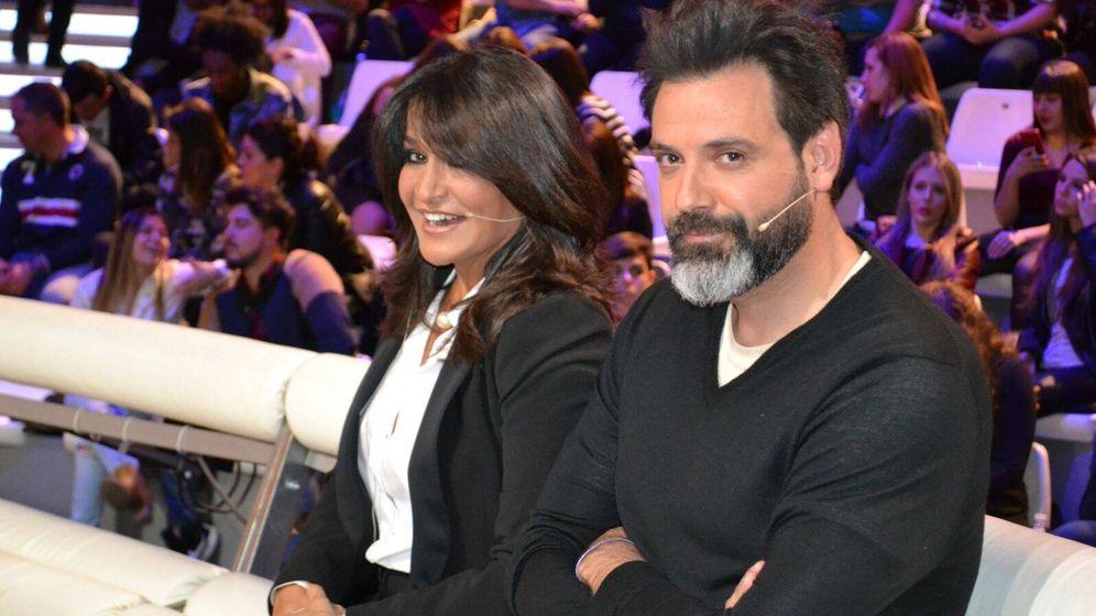 Foto: Aida Nízar y Mariano, el marido de Irma Soriano