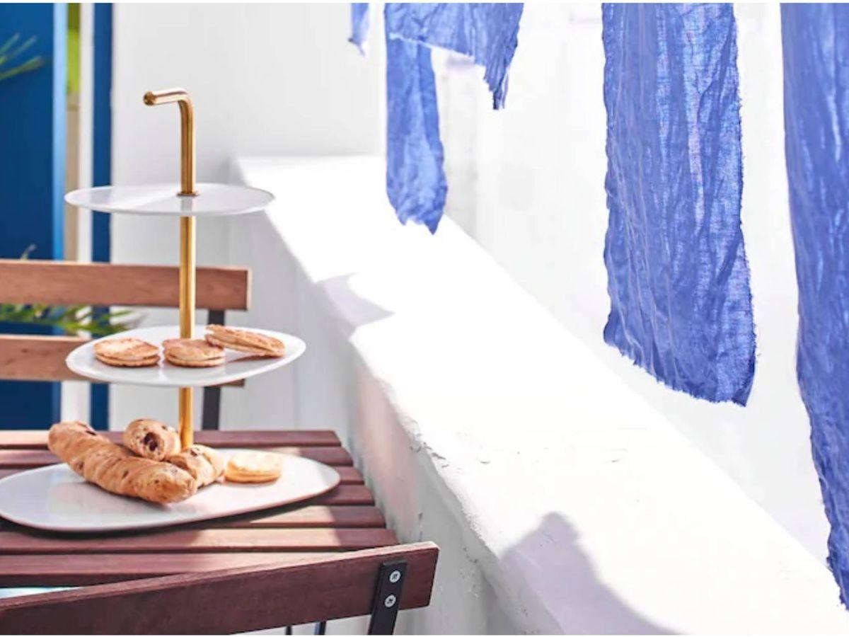 Foto: Ikea decora tu balcón aunque sea estrecho. (Cortesía)
