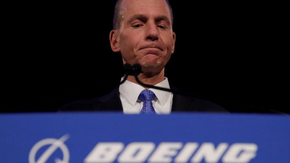Foto: El CEO de Boeing, Dennis Muilenburg. (Reuters)