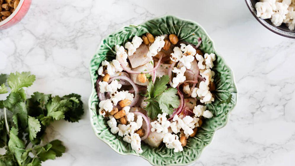 Foto: Ceviche de corvina. (Snaps Fotografía)