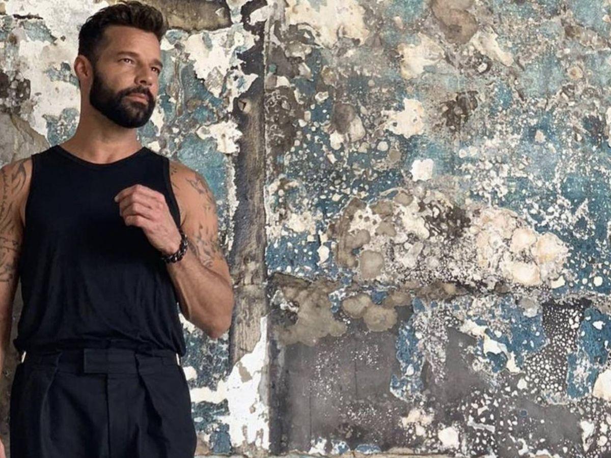 Foto: Ricky Martin. (Instagram)