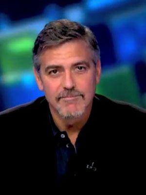 George Clooney contrae la malaria en Sudán