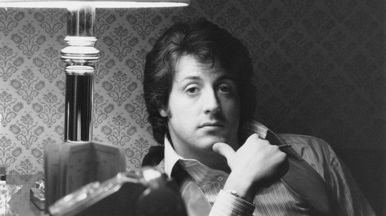 Un joven Stallone en los 70. (Getty)